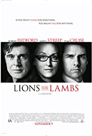 Lions for Lambs (2007) Poster - Movie Forum, Cast, Reviews