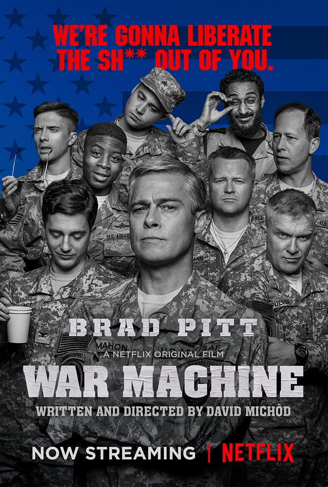 War Machine (2017) Hindi Dubbed