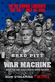 Play or Watch Movies for free War Machine (2017)