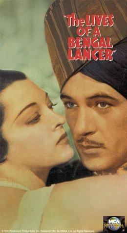 Gary Cooper and Kathleen Burke in The Lives of a Bengal Lancer (1935)
