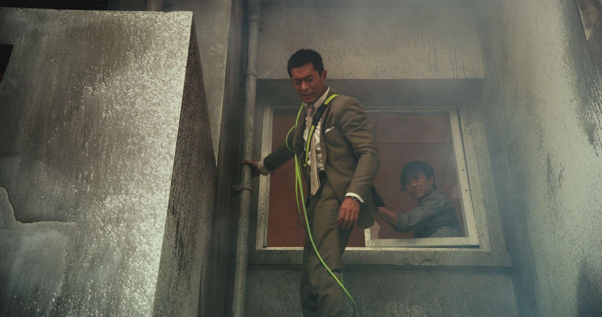 Louis Koo and Sicheng Chen in Tao chu sheng tian (2013)