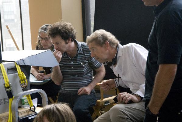 Frederick Elmes and Charlie Kaufman in Synecdoche, New York (2008)