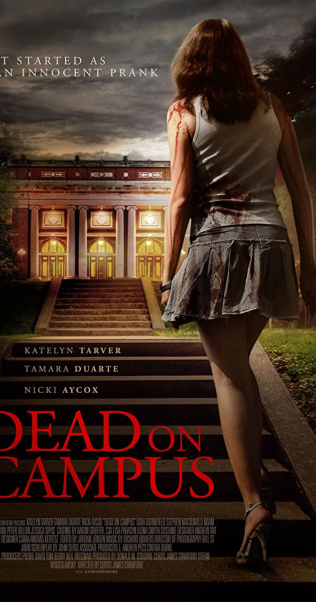 Subtitle of Dead on Campus