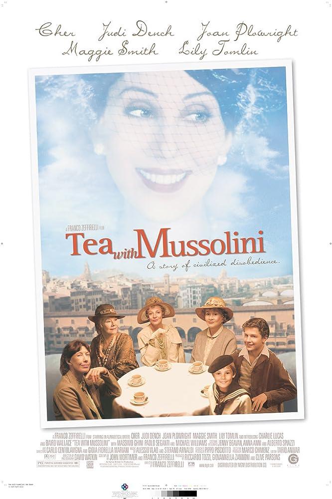 Un tè con Mussolini (1999)