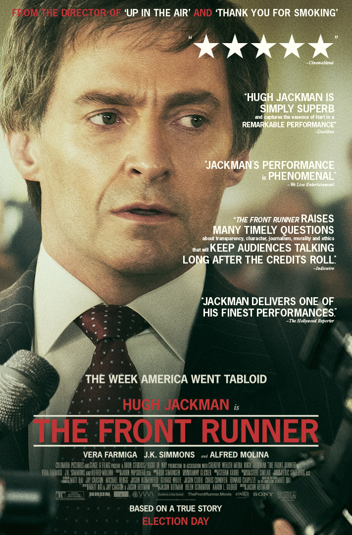 KAIP NETAPTI PREZIDENTU (2018) / THE FRONT RUNNER (2018)