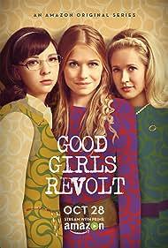 Anna Camp, Genevieve Angelson, and Erin Darke in Good Girls Revolt (2015)