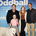 Shane Jacobson, Coco Jack Gillies, Sarah Snook and Richard Keddie at the Sydney preview of Oddball (2015)