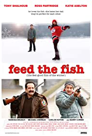 Tony Shalhoub, Ross Partridge, and Katie Aselton in Feed the Fish (2010)