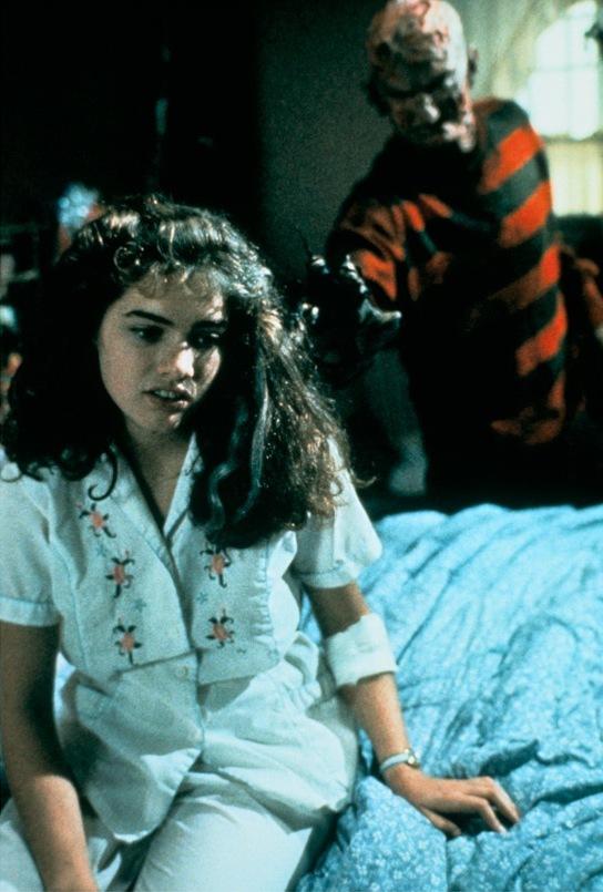 Robert Englund and Heather Langenkamp in A Nightmare on Elm Street (1984)