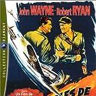 John Wayne and Robert Ryan in Flying Leathernecks (1951)