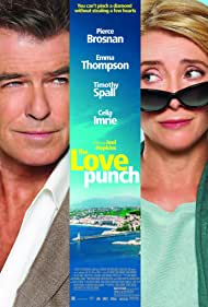 Pierce Brosnan and Emma Thompson in The Love Punch (2013)