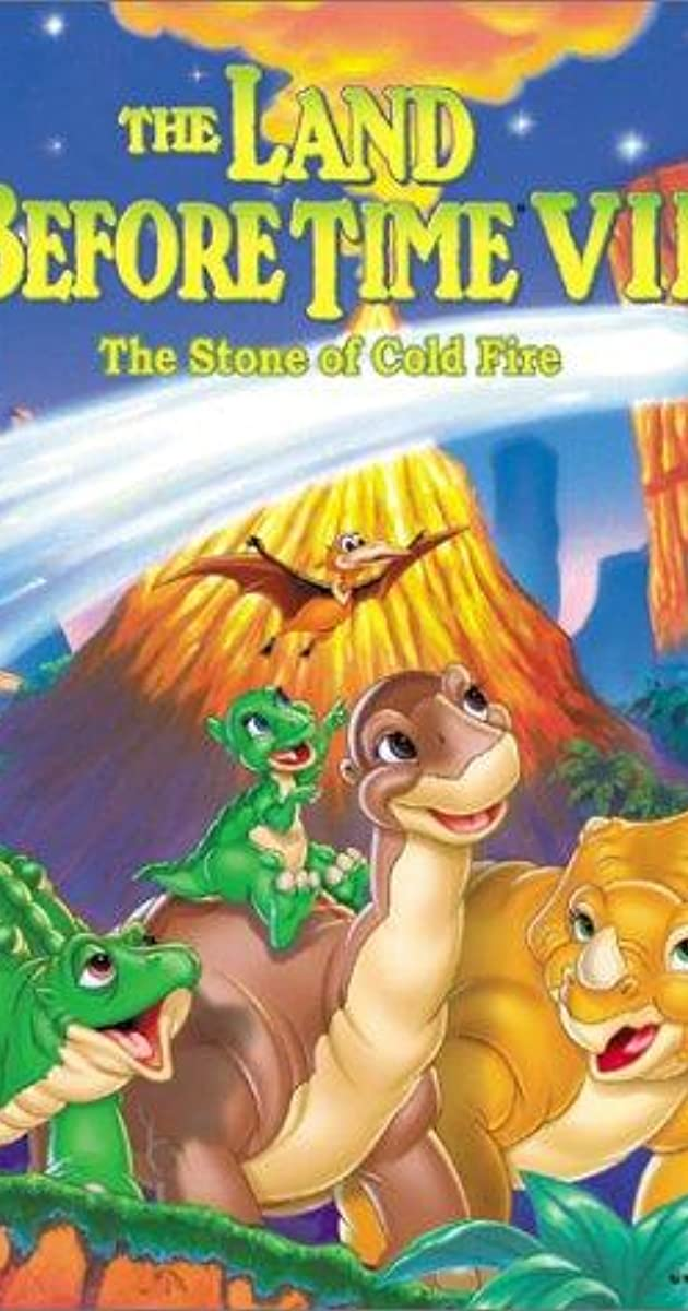 Subtitle of The Land Before Time VII: The Stone of Cold Fire