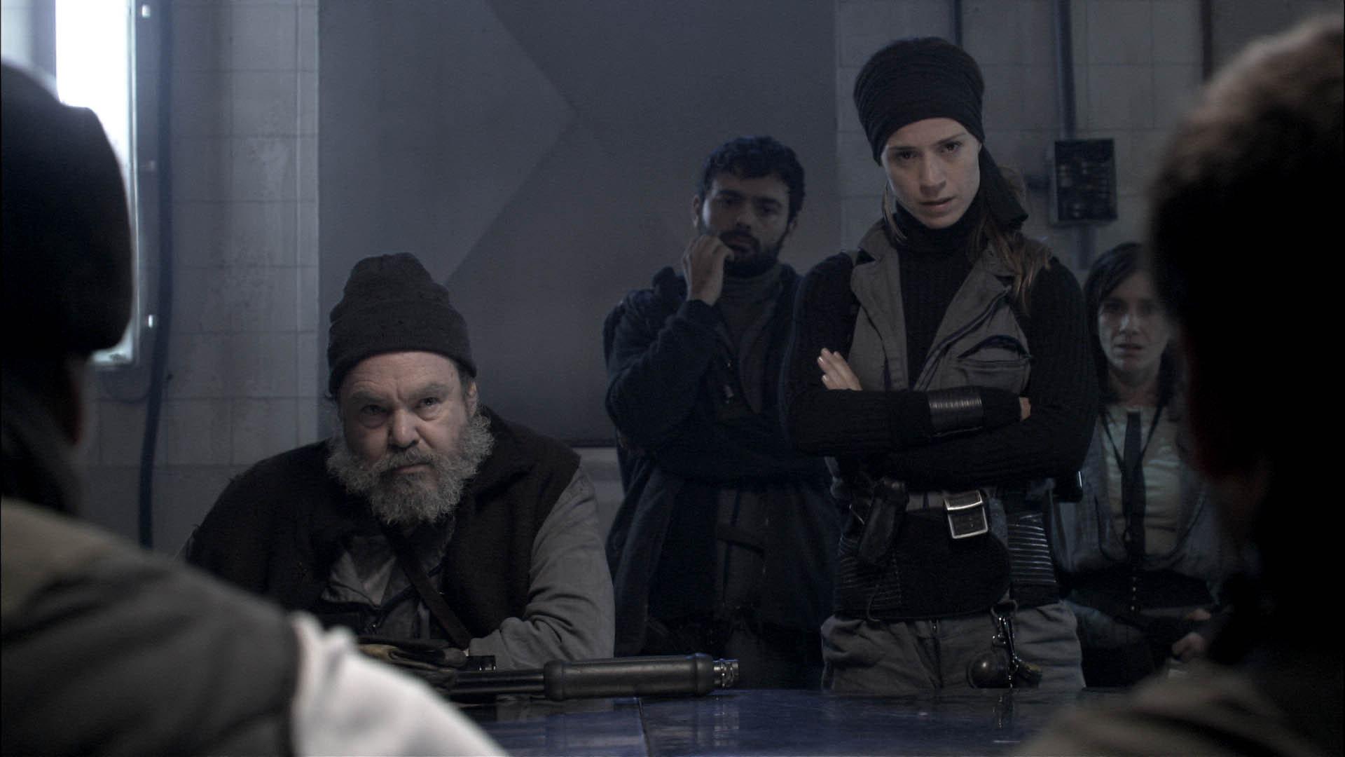 Silke, Carola Manzanares, Pepo Oliva, and Sergio Villanueva in La hora fría (2006)