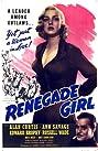 Renegade Girl (1946) Poster