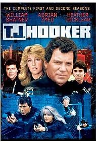 Heather Locklear, William Shatner, James Darren, and Adrian Zmed in T.J. Hooker (1982)