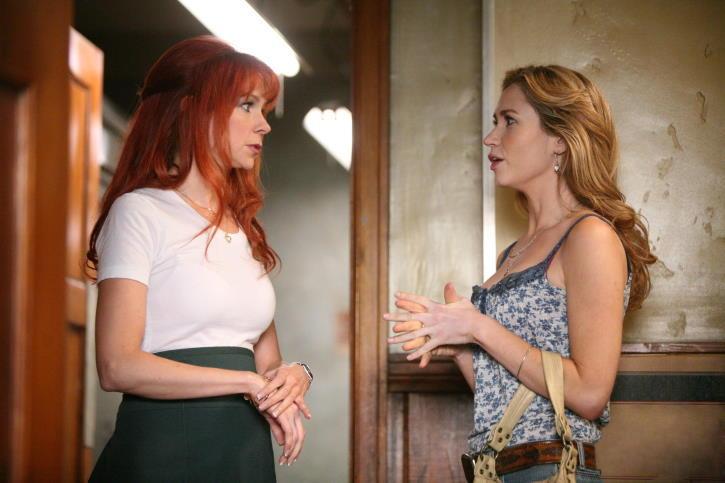 Ashley Jones and Carrie Preston in True Blood (2008)