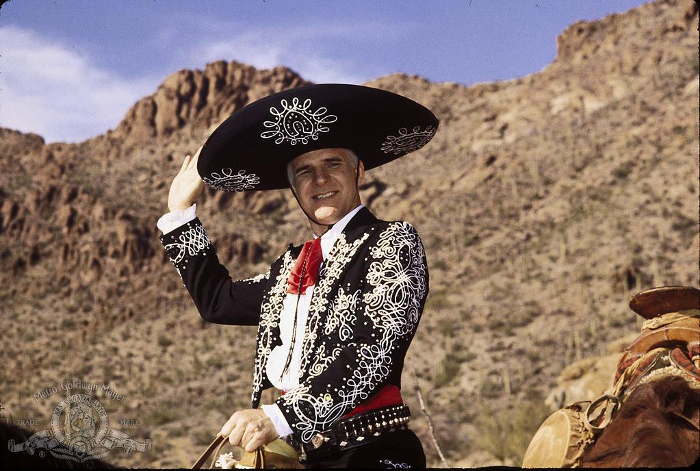Steve Martin in Three Amigos! (1986)