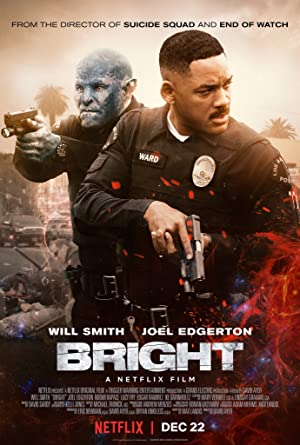 Bright 2017 Hindi Dubbed Dual Audio 720p BluRay 1GB