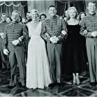 James Cagney, Doris Day, Gordon MacRae, Virginia Mayo, and Gene Nelson in The West Point Story (1950)