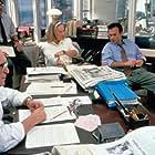 Glenn Close, Robert Duvall, and Michael Keaton in The Paper (1994)