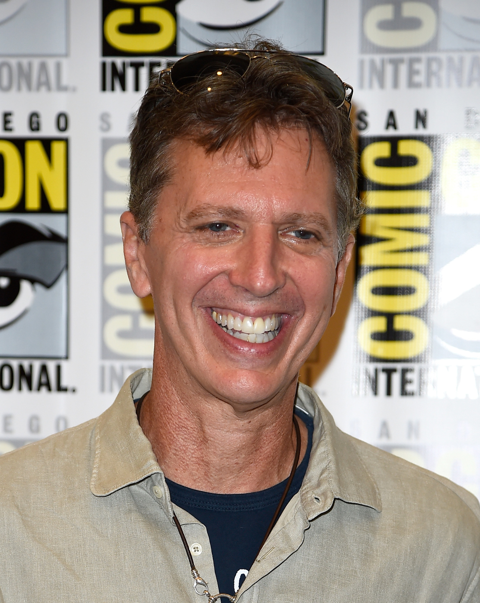Tim Kring at an event for Dig (2015)