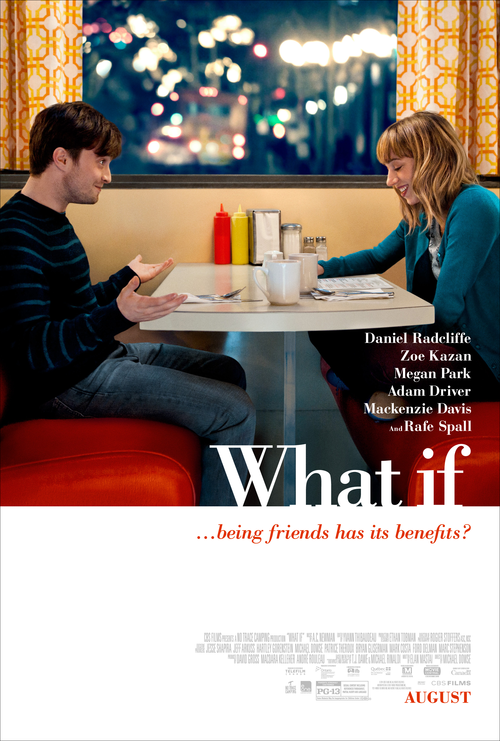 Zoe Kazan, etc What If - 2014 HD