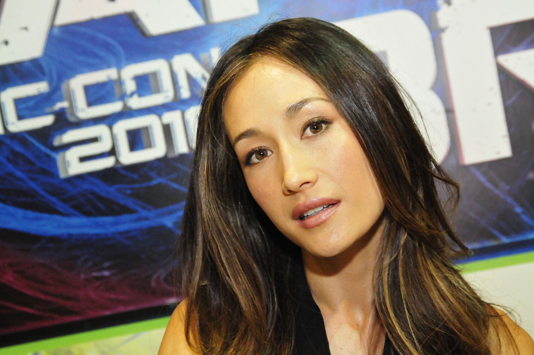 Maggie Q at an event for Nikita (2010)