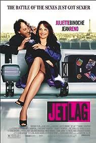 Juliette Binoche and Jean Reno in Décalage horaire (2002)