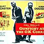 Kirk Douglas and Burt Lancaster in Gunfight at the O.K. Corral (1957)
