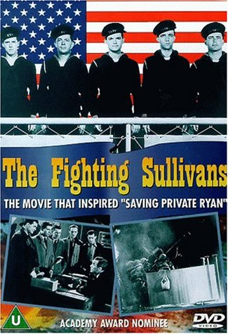Ward Bond, John Alvin, John Campbell, James Cardwell, George Offerman Jr., and Edward Ryan in The Sullivans (1944)