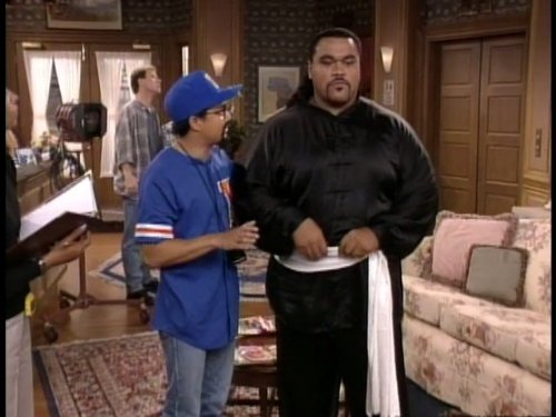 Alec Mapa and Peter Navy Tuiasosopo in The Jamie Foxx Show (1996)