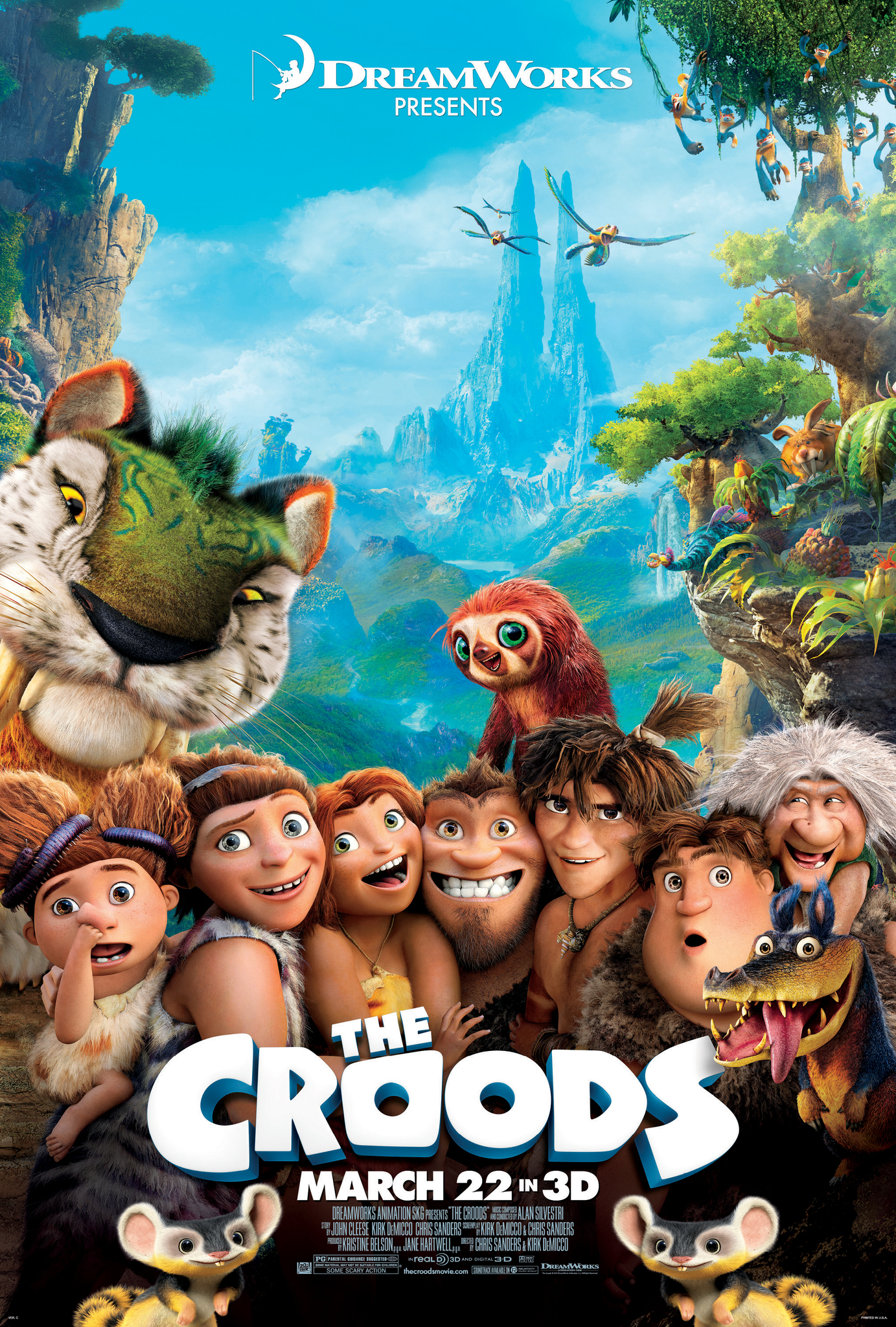 The Croods (2013) BluRay 480p, 720p & 1080p