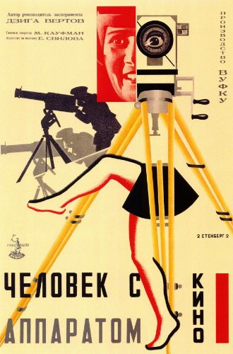 Vladimir Stenberg and Georgii Stenberg in Chelovek s kino-apparatom (1929)