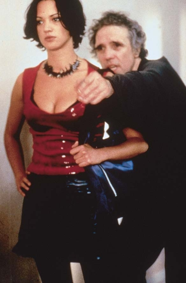 Asia Argento and Abel Ferrara in New Rose Hotel (1998)