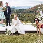 Natalie Zea, Ashley Gerasimovich, Daniella Pineda, and Liam Carroll in The Detour (2016)