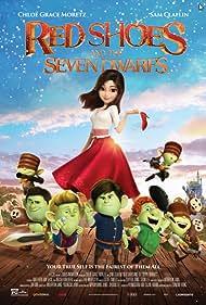 Gina Gershon, Jim Rash, Patrick Warburton, Chloë Grace Moretz, and Sam Claflin in Red Shoes and the Seven Dwarfs (2019)
