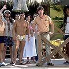 Left to Right: Brittany Daniel, Bill Paxton, Kevin Heffernan, Steve Lemme, Lindsay Price, Paul Soter, Erik Stolhanske and Jay Chandrasekhar.