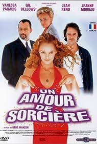Jean Reno, Gil Bellows, Jeanne Moreau, and Vanessa Paradis in Un amour de sorcière (1997)