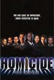 Yaphet Kotto, Kyle Secor, Michael Michele, Andre Braugher, Reed Diamond, Clark Johnson, Jon Seda, and Callie Thorne in Homicide: The Movie (2000)