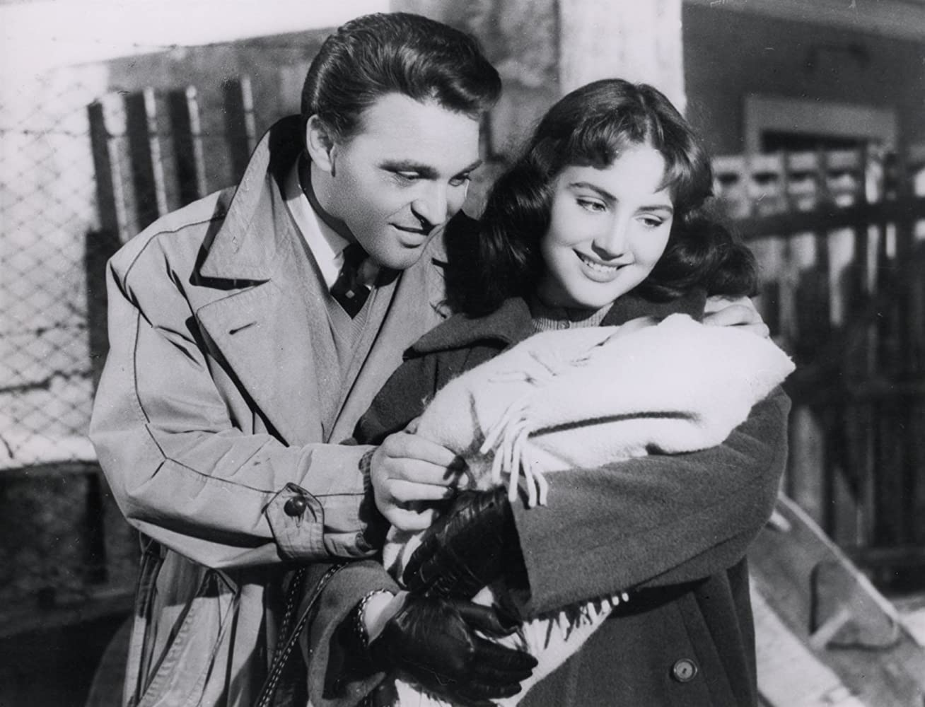Franco Fabrizi and Leonora Ruffo in I vitelloni (1953)