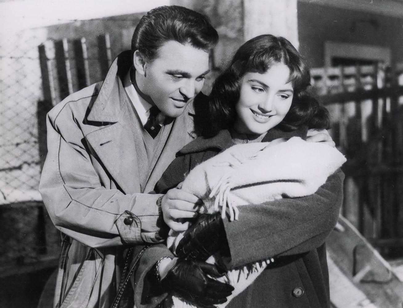 Franco Fabrizi and Leonora Ruffo in I vitelloni (1953)