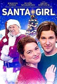 Barry Bostwick, Blayne Weaver, Devon Werkheiser, and Jennifer Stone in Santa Girl (2019)