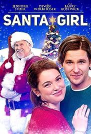 Santa Girl Poster