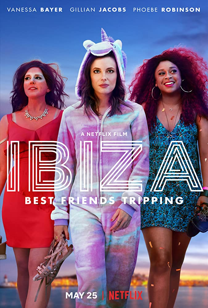 Gillian Jacobs, Vanessa Bayer, and Phoebe Robinson in Ibiza (2018)