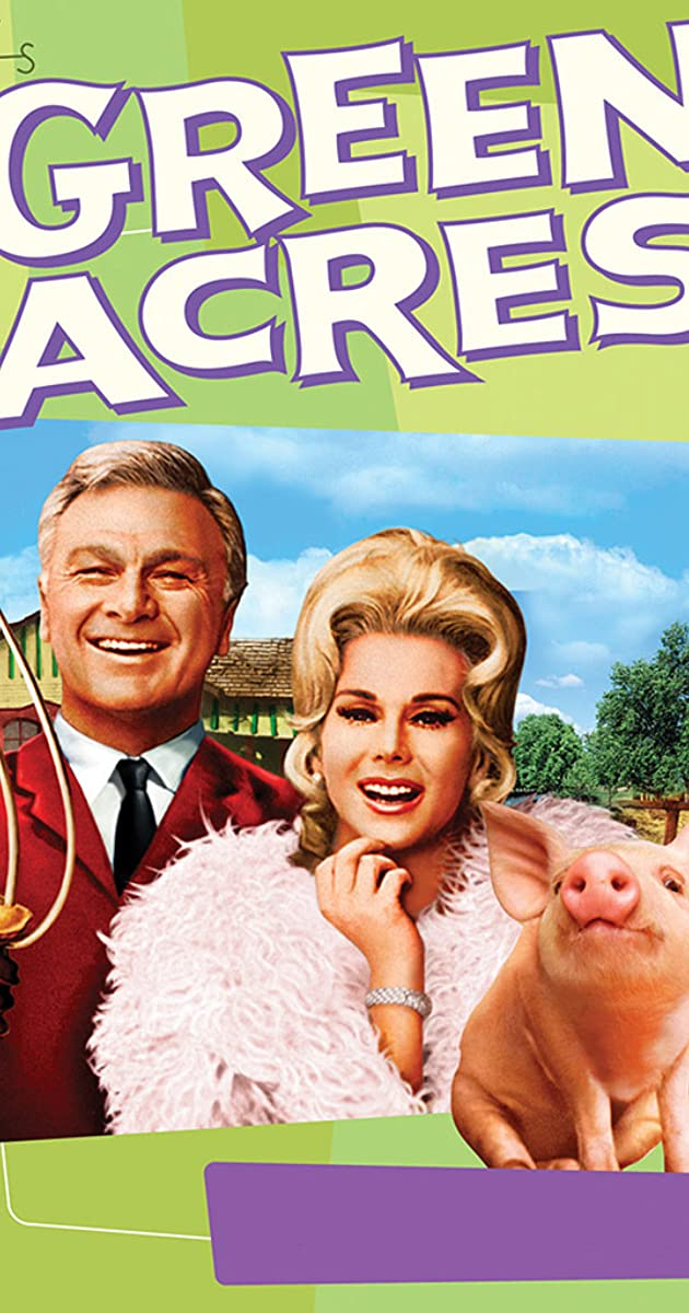 Photo Cast of TV Show Green Acres