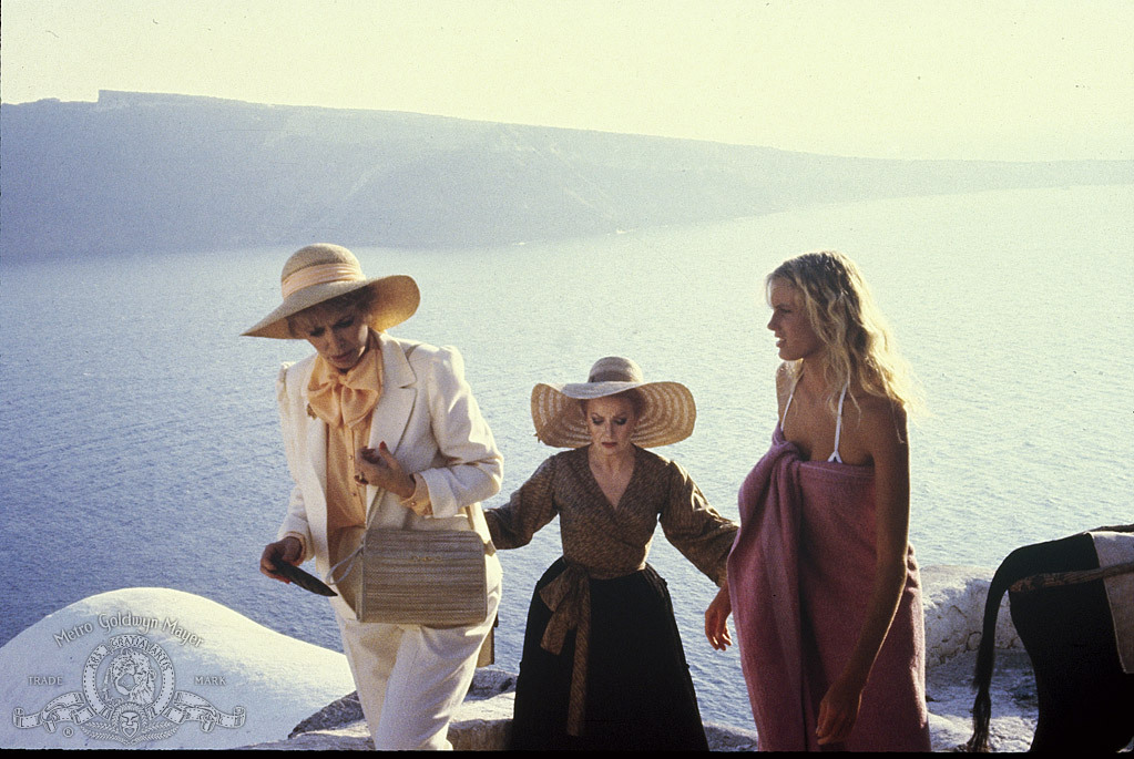 Daryl Hannah, Carole Cook, and Barbara Rush in Summer Lovers (1982)