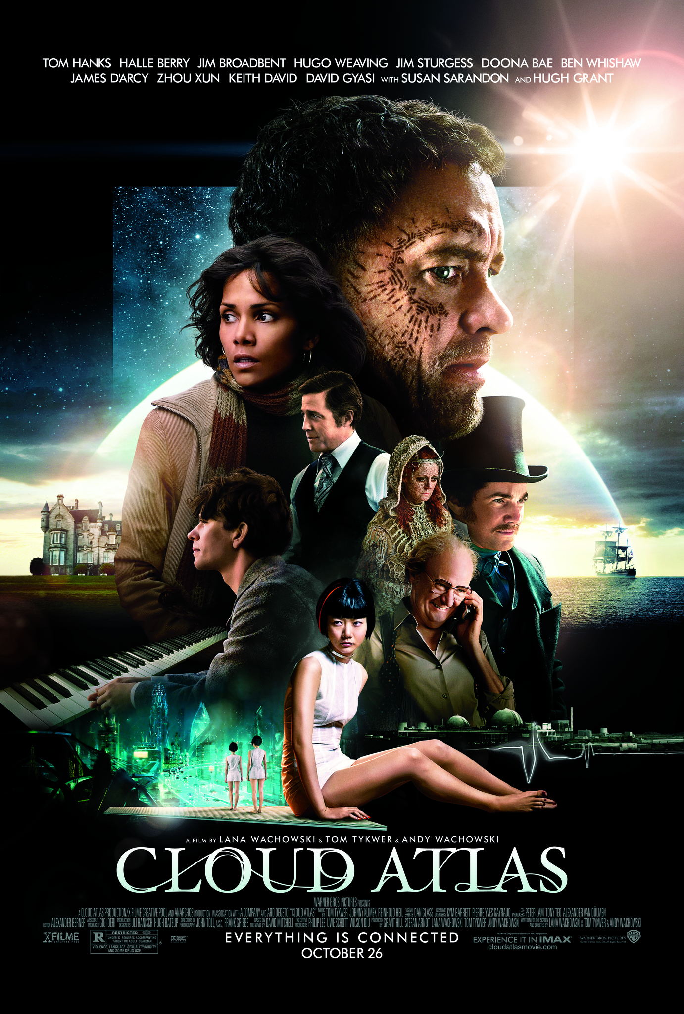Image result for Cloud Atlas (2012)