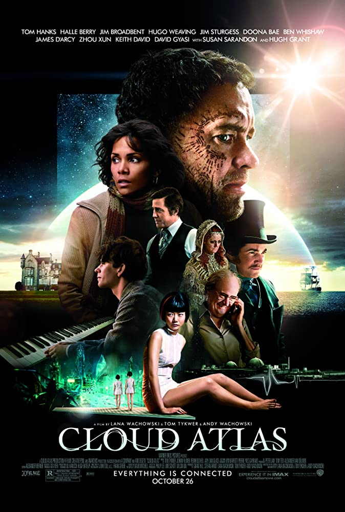 Cloud Atlas 2012 Hindi Dual Audio 720p BluRay ESub 1.3GB x264 AAC