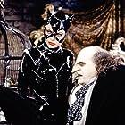 Michelle Pfeiffer and Danny DeVito in Batman Returns (1992)