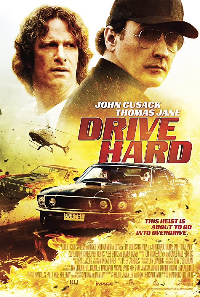 Poster film Drive Hard (2014)